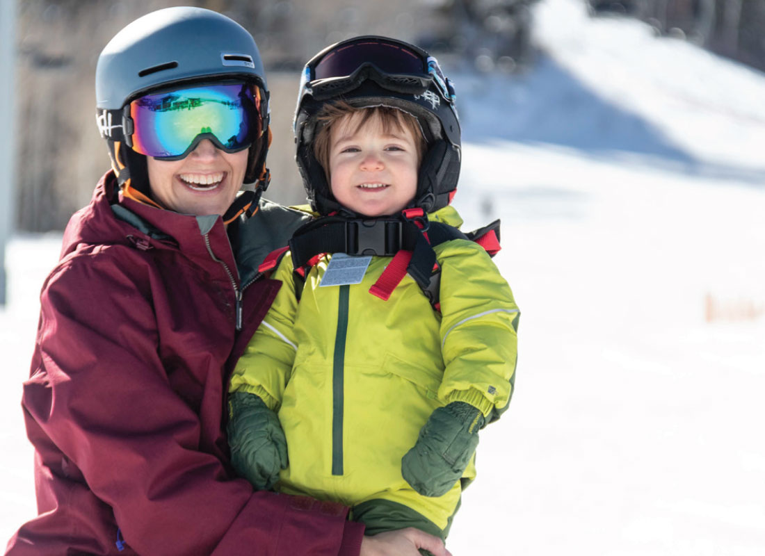 Families at Powderhorn Ski Resort